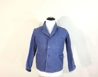 euro vintage military cotton blazer jacket