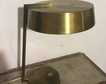30s brass desk lamp