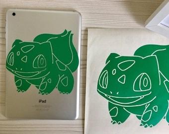 Bulbasaur Pokemon Customisable Vinyl Decal