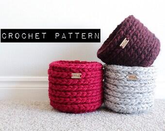 CROCHET PATTERN//The Mini Basket Pattern