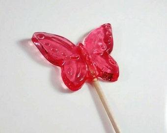 Butterfly Favour lollipop, Butterfly Lollipops, Wedding Favours, Party Bag Favours, Birthday Party Ideas, Lovely Lollies, uk