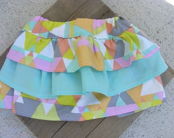 Baby girl skirt, ruffles, baby girl ruffle skirt, 6-12 months, baby outfit, baby girl clothes