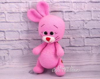 Rabbit bunny crochet bunny plush bunny stuffed bunny stuffed bunny doll bunny toy amigurumi bunny rabbit amigurumi bunny crochet toy bunny