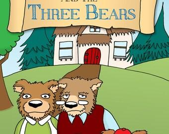 Personalised Goldilocks and Three Bears Book