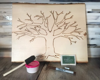 Unique Guestbook Ideas,DIY Family Tree, DIY Family Kit, wedding guestbook alternative, diy wedding guestbook, family tree,Genealogy Wall Art