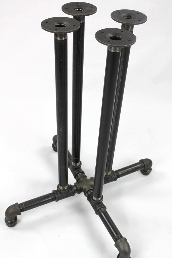 Black Pipe Table Frame/Table Legs DIY Parts Kit