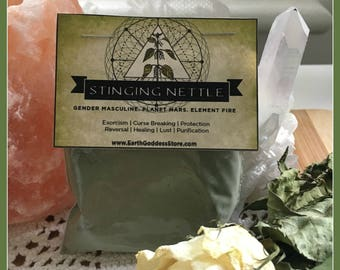 STINGING NETTLE - Curse Breaking, Protection