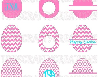 Egg files, egg svg files, dxf easter, egg cricut, egg cricut svg, egg silhouette, easter egg files, egg monogram svg, easter egg svg files