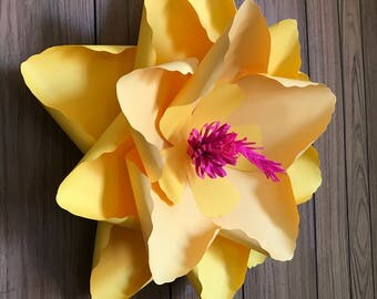 Hibiscus paper flower / Giant paper flower / large paper flower /