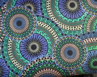 Brocade Pattern Jungle - 100% Cotton