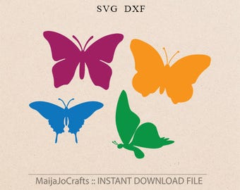 butterfly SVG Summer svg butterfly silhouette svg files for cricut instant download svg files for silhouette designs butterflies svg