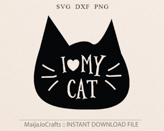 Cat Svg Cat Lover Svg Cat Lady Svg Cut File Silhouette Svg