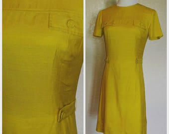 Clearance *** Fun Mod A-line Yellow Dress