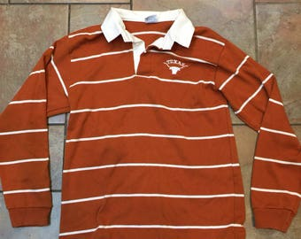 Vintage University of Texas Longhorns small Rugby