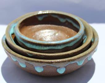 Ocean Drip Bowls