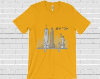 New York t shirt. NYC shirt. New York gift