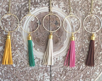 CLOSING SALE! Gold Tassel Necklace