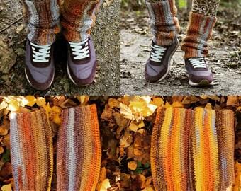 SALE/Hand knitted leg warmers/Leg Warmers Women/Boot Socks Women/ Knit/Leg Warmers/Spring accessories