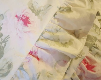 Rachel Ashwell Fabric Euro Sham Pair Handmade