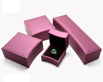 Rose Jewelry Box/Gift Boxes/ Ring Package Boxes/Jewelry Accessories /4 Sizes 060
