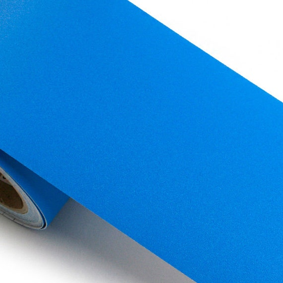 Peel stick border sticker solid blue color contact paper for Solid color peel and stick wallpaper