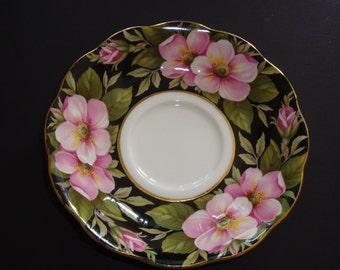 Royal Albert Provincial Flowers ALBERTA ROSE Orphan Saucer