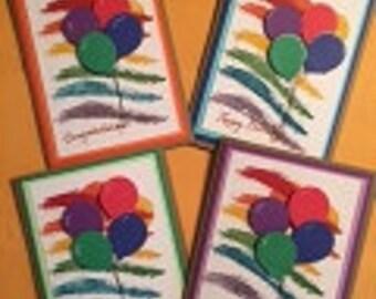 Several Celebrating Greeting Cards Pack (8)