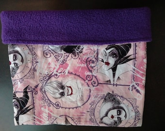 Disney Villians Snuggle Sack for Hedgehogs and Other Small Animals