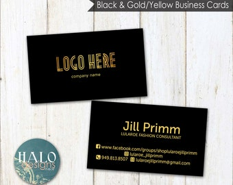 Business Cards - BLACK