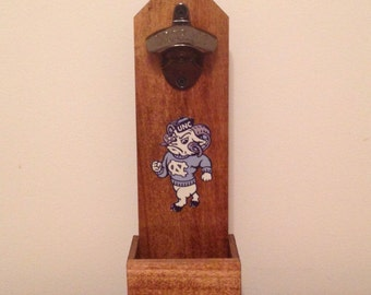 UNC Tarheels Wall Mounted Bottle Opener