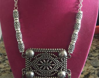 Sale-Tribal belly dance Necklace