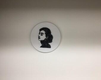 Made to Order Audrey Hepburn String Art