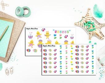 Easter Clip Art Planner Sticker Set