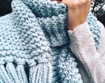 Blanket Scarf // choose your color!