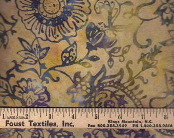 Tonga Batik -Opal - Paisley Batik - Batik