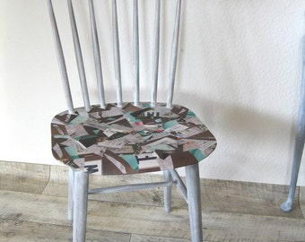 chair upcycled