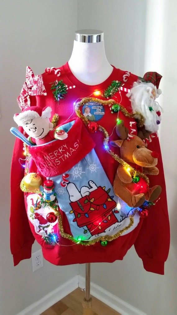 Snoopy Christmas Sweater