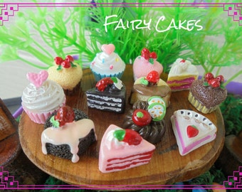 Fairy Cakes (5 Assorted Pieces)