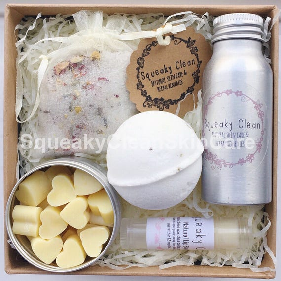 bath gift set pampering gift set gifts for her spa gift
