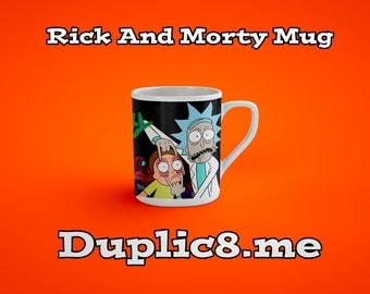 Custom Rick And Morty Mug