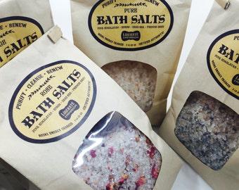 Healing Reiki Charged Bath Salts