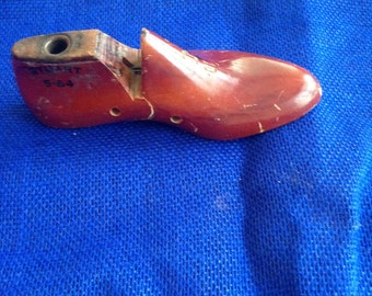Vintage, wooden shoe mold.