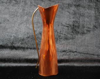 Copper Vintage  vase made in Sweden / home decor/ kitchen decor.