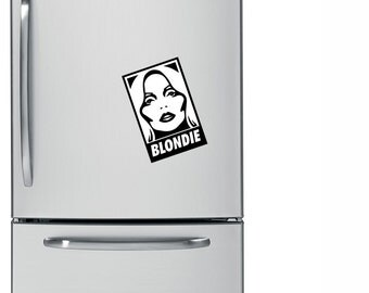 Blondie Magnet - Deborah Harry, Rock Decor, Fridge Magnet, 80s, Rock N Roll