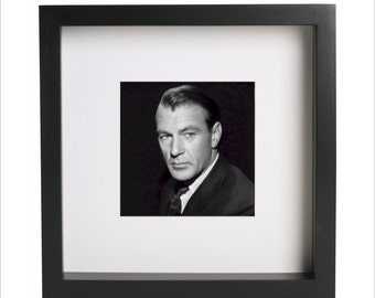 Gary Cooper photo print | Use in IKEA Ribba frame | Looks great framed for gift | Free Shipping | #2