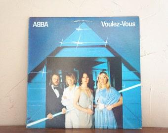 1979 ABBA Voulez-Vous LP Vinyl Record 1970s
