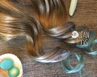 Human Hair Extensions, Hair extensions Clip In, Ombre Hair, Pastel Hair , Silver Hair, Mint Hair, Mermaid Hair, Single clips