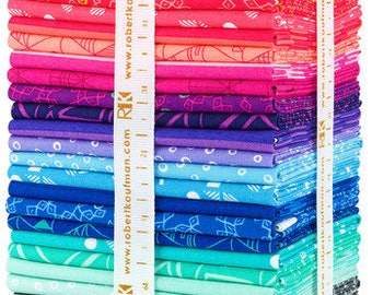 Panache by Rebeca Bryan Fat Quarter Bundle ONLY 1 Left for Robert Kaufman Fabrics Pre-order with FREE SHIPPING