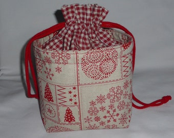 Bag, fabric, warm and storage pouch