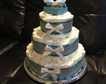 3- Tier Diaper Cake-made to order
